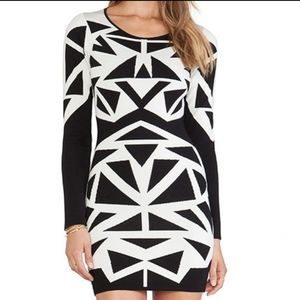 Parker Marzi knit dress
